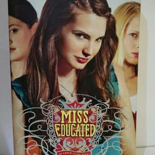 Novel english chick flick Miss Educated