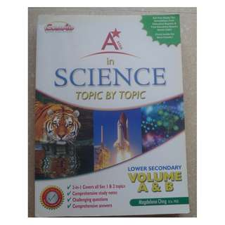 A Star in Science for Lower Secondary Topic by Topic Assessment Book
