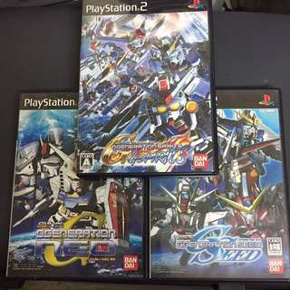 PS2 SD高達 G-Generation G-Spirits+Neo+Seed