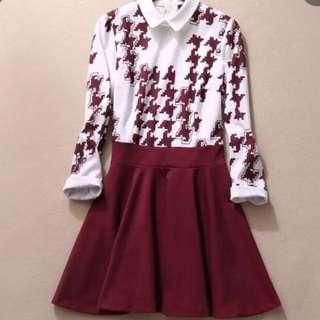 長袖洋裝(庫存剩2件)