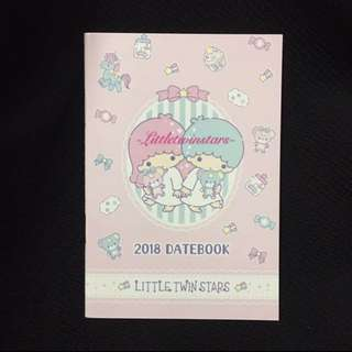 BN Little Twin Stars 2018 Datebook Planner
