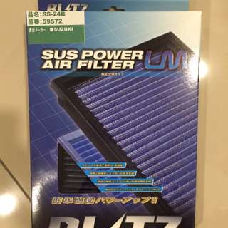 Ori blitz air filter Suzuki swift