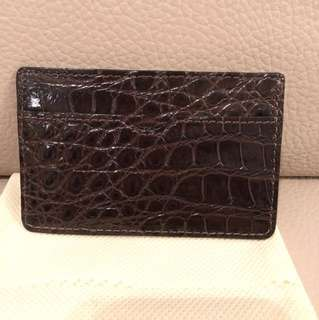 Viet Thanh crocodile leather cardholder