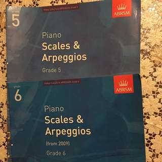 ABRSM - Piano Scales & Arpeggios grade 5 & 6
