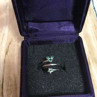 Disney Mickey Ring (Green) 迪士尼米奇戒指