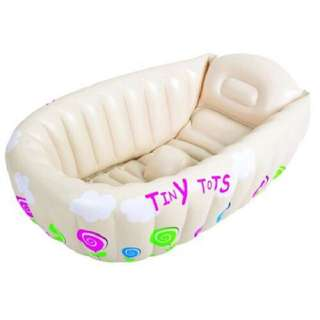 [FREE POSTAGE SM] Inflatable baby 'tiny tots' bathtub bath tub