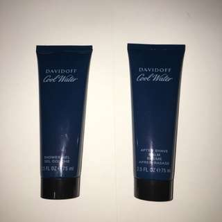 Davidoff Shower Gel and After Shave Balm
