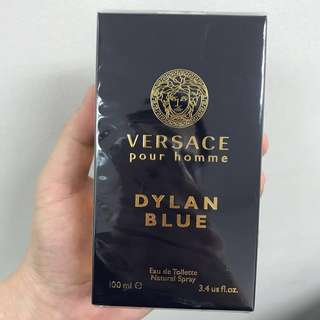 Brand New Sealed Authentic Versace Dylan Blue Pour Homme EDT 100ml - Not Tester Set
