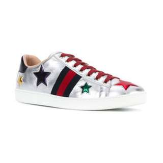 GUCCI SNEAKERS AUTHENTIC- NEW ACE STAR PATCH *RP 900SGD