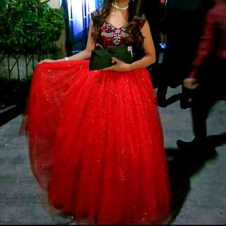 Gown (RED)