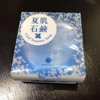 香草集 夏肌石鹼 沁涼薄荷 潔顏皂 洗臉皂