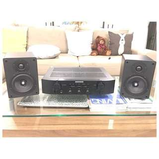 MARANTZ AMPLIFIER PM5004 + CAMBRIDGE AUDIO SPEAKERS + Free Floor standing speakers