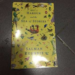 Lit-Haroun and the sea of stories