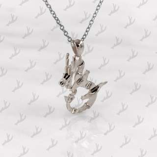 Da Dragon Pendant and Necklace (925 Sterling Silver) Da Things - 925 純銀肖龍吊咀連頸鍊