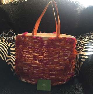 Kate Spade Limited Edition Straw Bag