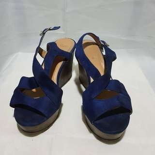 Celine wedge sandals for women