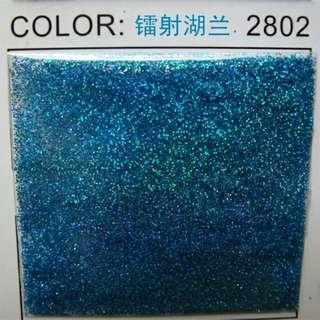 Sea blue holographic nail glitter