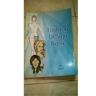 "BUKU ""Fashion Design BASIC"""