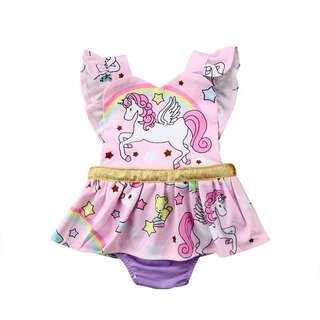 Unicorn Romper Dress