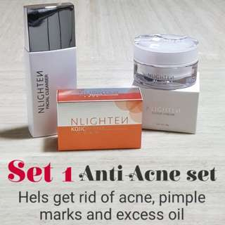 Nlighten Anti-Acne Set