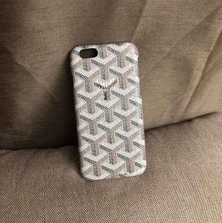 iPhone 6/s GOYARD CASE REPLICA (beige)