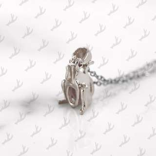 Da Monkey Pendant and Necklace (925 Sterling Silver) Da Things - 925 純銀肖猴吊咀連頸鍊