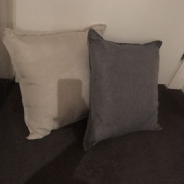 2 bed/sofa cushions/pillows