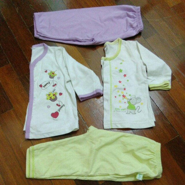 2 set newborn night wear