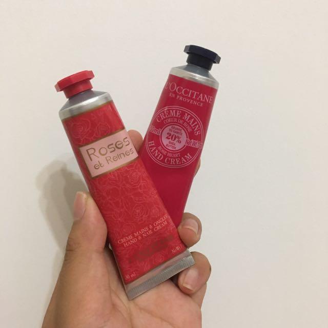 2 x L'Occitane Hand Cream