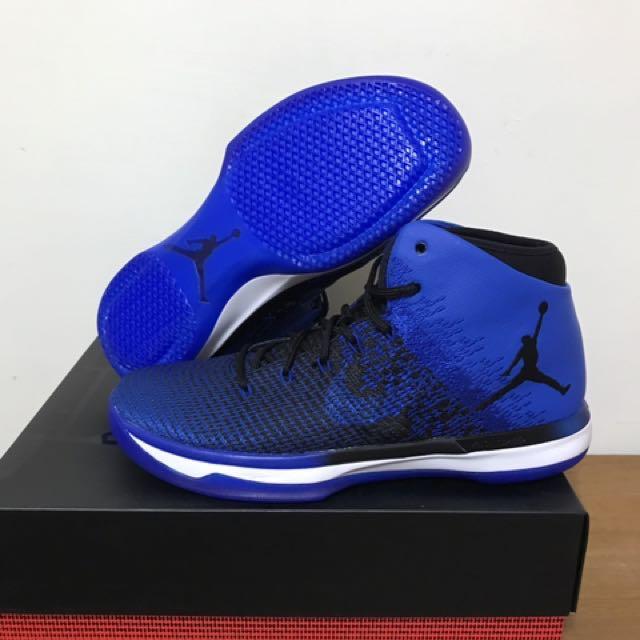 喬丹31代藍黑配色,正品,門市購入