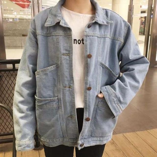 [全新現貨]雙口袋牛仔外套