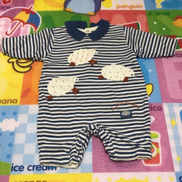 (兩件合售)專櫃嬰幼兒連身衣