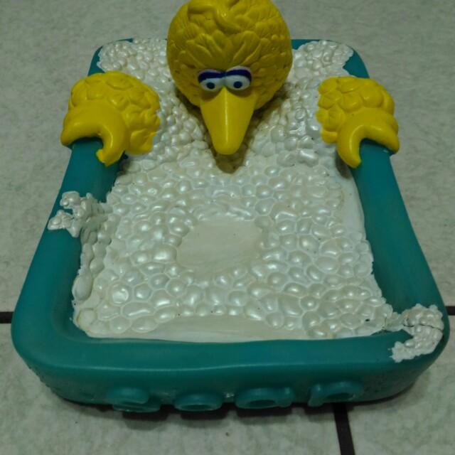 芝麻街 大鳥姊姊 肥皂盒 收藏用 品項良好 ELMO
