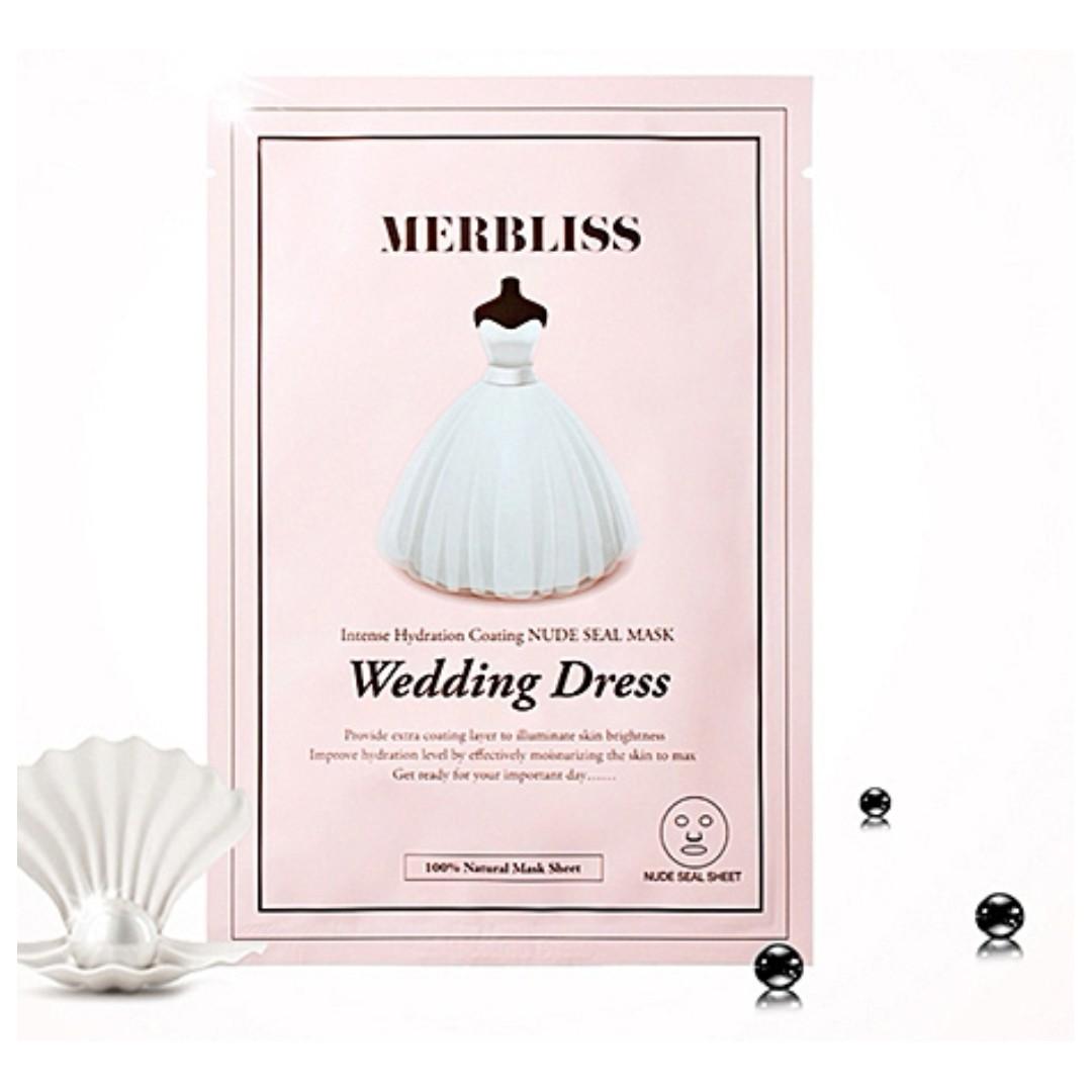 限量現貨 韓國正品 MERBLISS 婚紗面膜 珍珠魚子醬  25g 單片