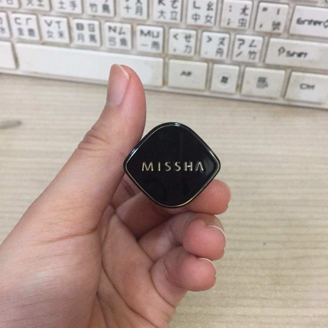 九成新 MISSHA 格蘭迷炫璀璨唇膏 #CR04 (乾燥玫瑰色)