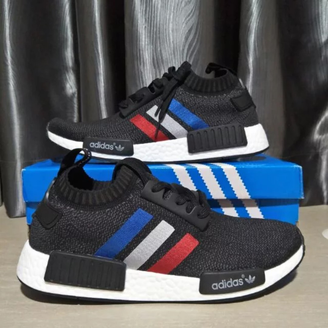 1419e5165 Adidas NMD R1 PK Tri-Color  Core Black