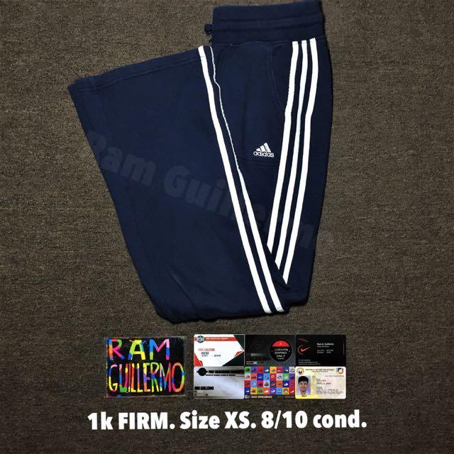 Adidas Sweatpants Navy Blue