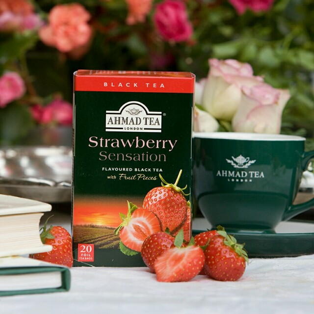 Ahmad Tea Strawberry Sensation