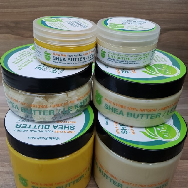 All 100% natural skin & hair care