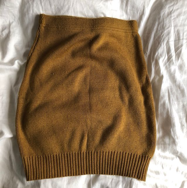 American Apparel Knitted Skirt