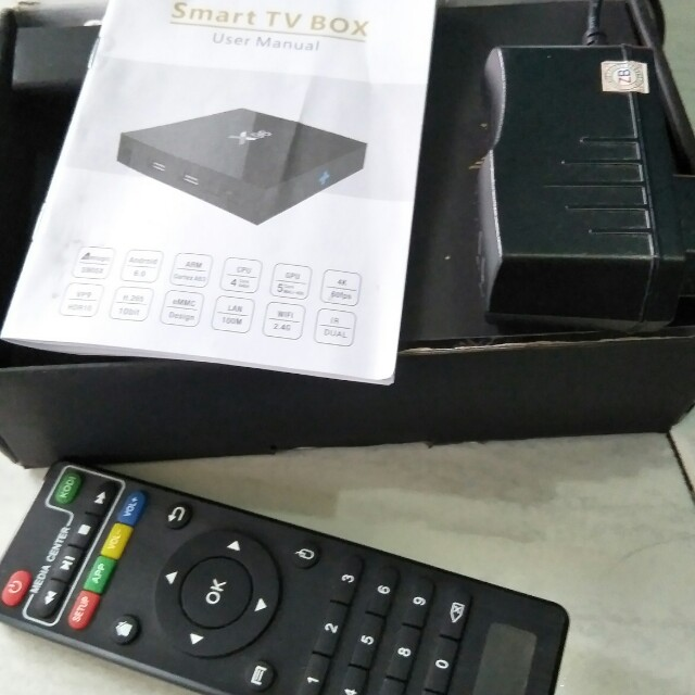 Android tv box smart tv X96