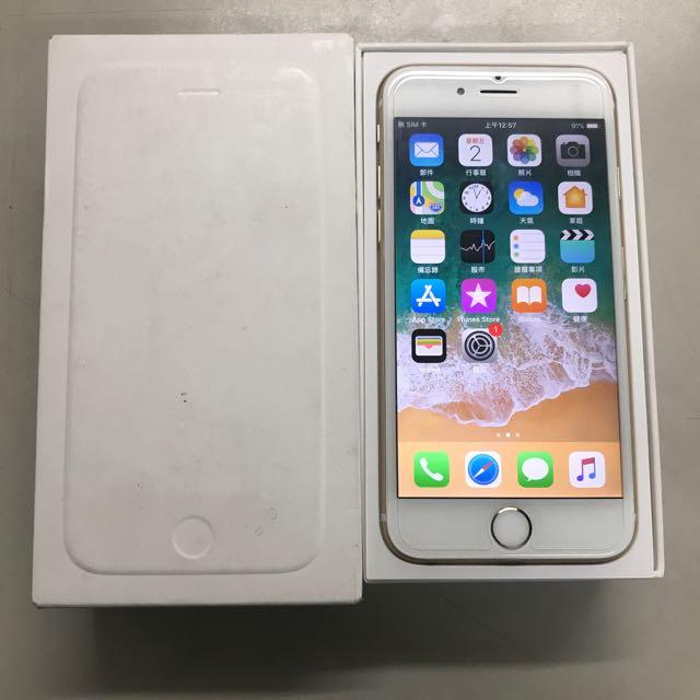APPLE IPHONE 6 64G 金色!