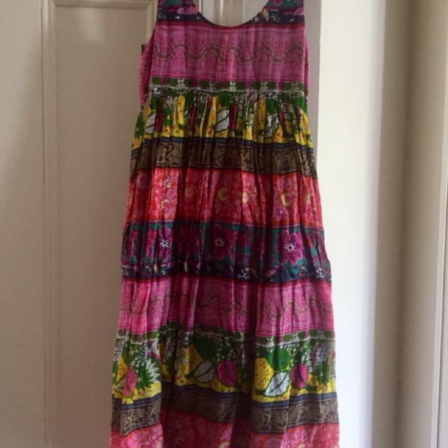 ASOS boho maxi dress