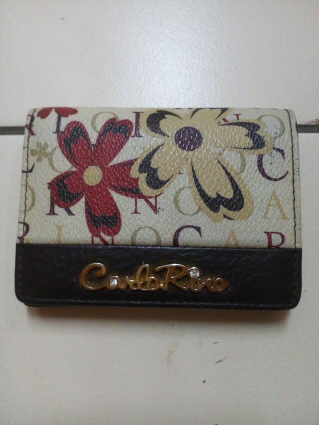 Authentic carlo rino wallet