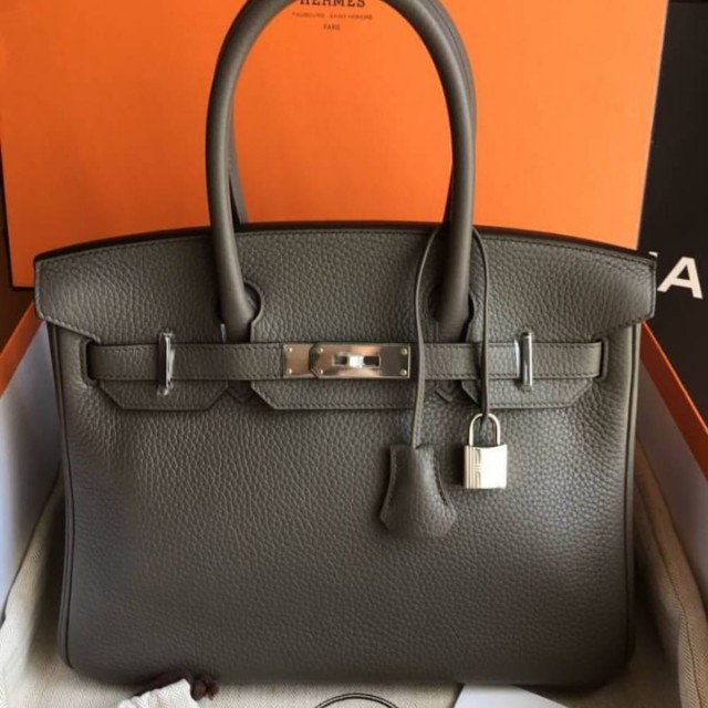 ... original quality new a27fe d4764  uk authentic hermes birkin 30 etoupe  luxury bags wallets on carousell ff854 25203 9a87b80215