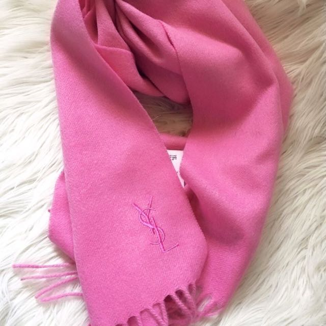 Authentic YSL wool scarf