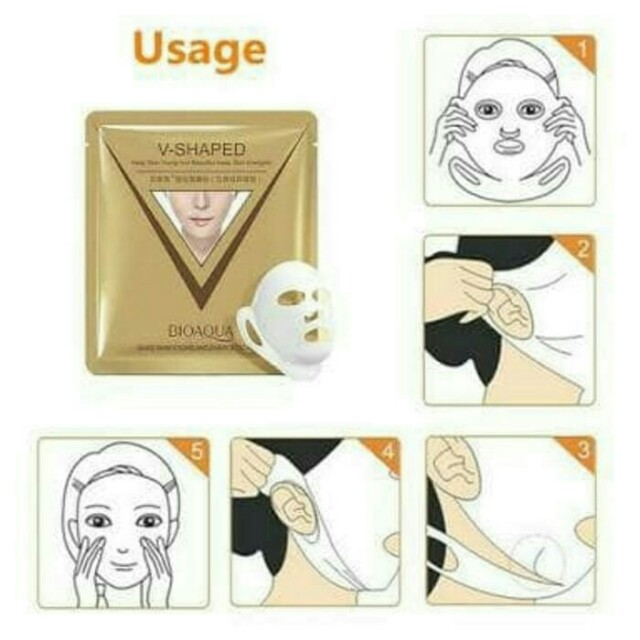 Bioaqua V shape / masker muka Tirus V-shaped, Health & Beauty, Makeup on Carousell