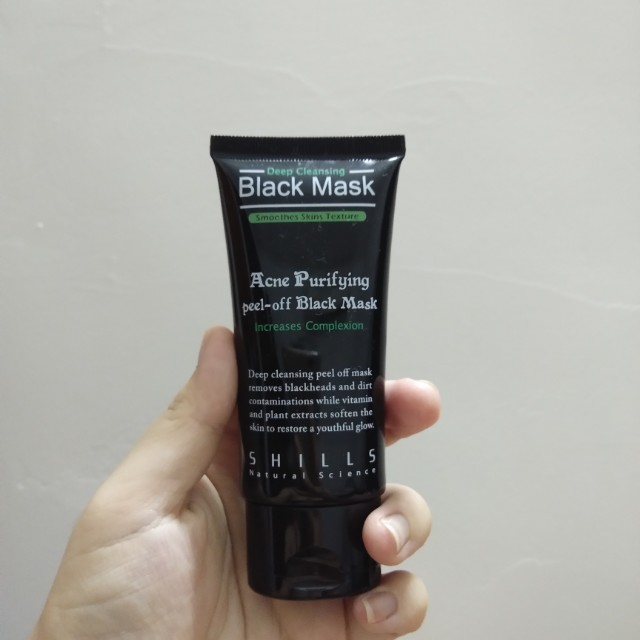 Black Mask Acne Purifying