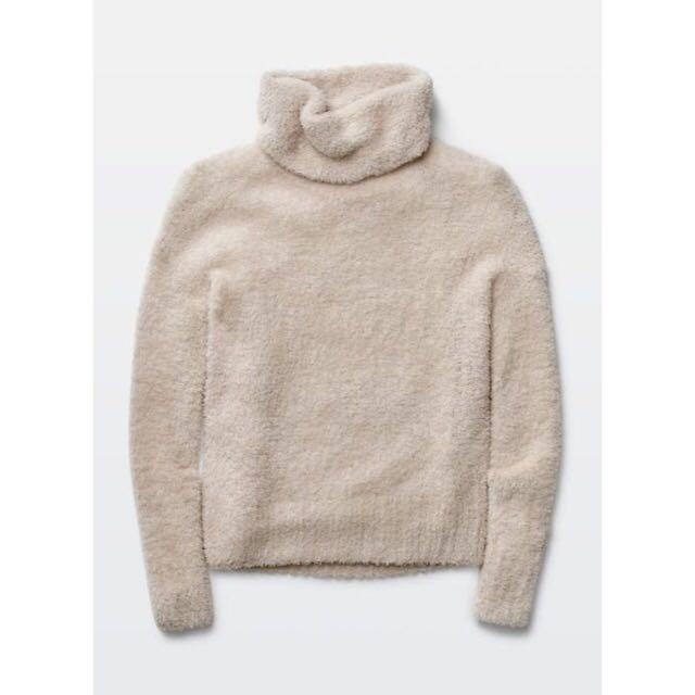 Bone Wool Wander Sweater - Medium - Golden by TNA