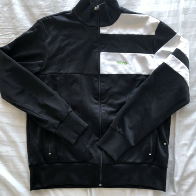 BOSS Green label black track jacket